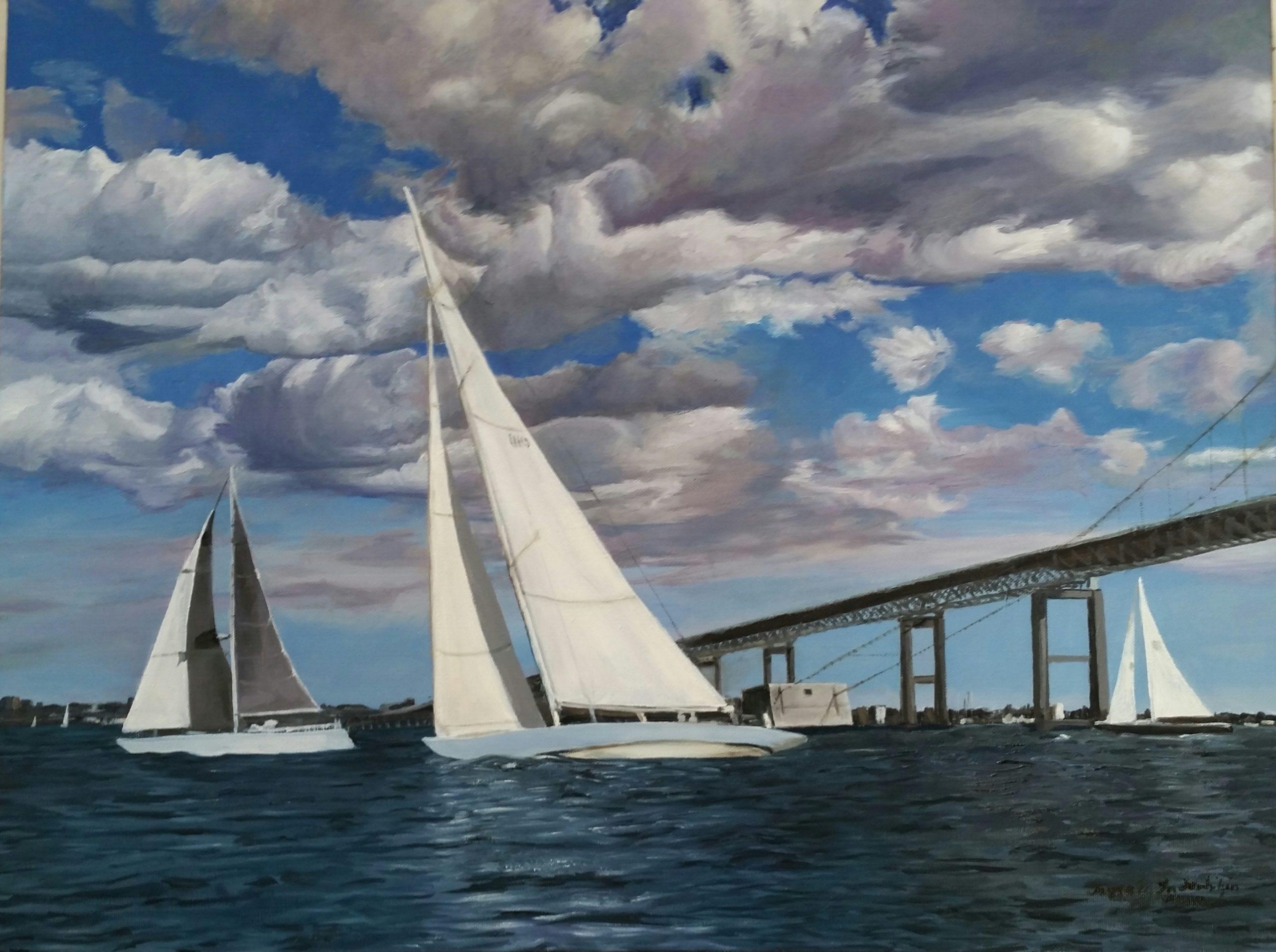Sailing Narragansett Bay