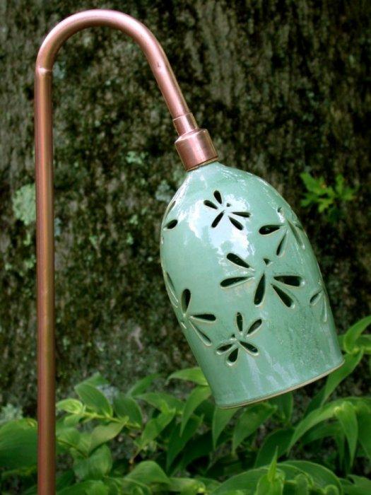 Dragonfly Garden Lamp