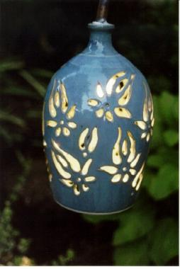 Flaming Tulip Outdoor Lamp